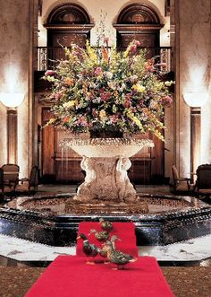 The Peabody Ducks, live a life of luxury on the top of the Peabody Hotel in Memphis Tennessee