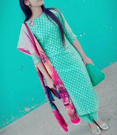 #suit Punjabi Suit Neck Designs, Salwar Neck Designs, Neck Designs For Suits, Churidar Designs, Kurta Neck Design, Dress Neck Designs, Saree Blouse Designs, Latest Salwar Suit Designs, Punjabi Fashion