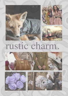 Mood boards - #rustic #charm #fall #heritage - inspired by #mulberry #burberry #barbour #british #country #chic