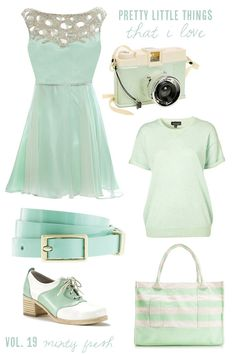 seafoam dress love!
