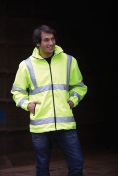 Yoko Hi-Vis Fleece Jacket - Under £19