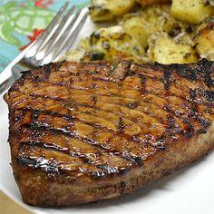 Marinated Tuna Steak Recipe | Allrecipes Tuna Marinade, Ahi Tuna Steak Recipe, Marinated Tuna Steak, Grilled Tuna Steaks, Grilled Steak Recipes, Pan Seared Tuna Steak, Tuna Steak Marinades, Recipe Marinade, Seared Ahi