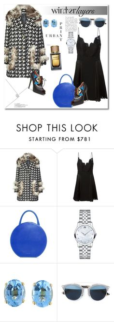 """""""Look the day"""" by vkmd ❤ liked on Polyvore featuring Just Cavalli, Givenchy, Mansur Gavriel, Movado, Christian Dior, Dolce&Gabbana, women's clothing, women's fashion, women and female"""