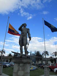 El Mariscal Antonio José de Sucre, Vencedor de la Batalla de Pichincha, y libertad de lo que hoy es el Ecuador.