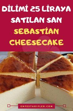 San Sebastian Cheesecake Tarifi – Kahvaltılıklar – The Most Practical and Easy Recipes Mug Recipes, Cookbook Recipes, Baby Food Recipes, Baking Recipes, Cake Recipes, Dessert Recipes, Easy Desserts, Delicious Desserts, Snacks