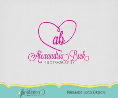 Premade Logo and Watermark Photography by JLAndersonDesign Watermark Photography, Logo Design, Studio, Business, Handmade Gifts, Etsy, Kid Craft Gifts, Craft Gifts, Studios
