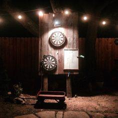 Backyard Darts!