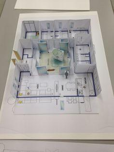 インテリアセルフアテンド1級講座。住宅模型♪ #インテリアアテンダント#interiorattendant#99%失敗しない家づくり講座