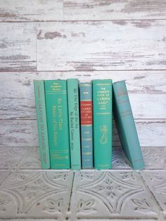 Ocean Books Instant Library Collection by sorrythankyou79 on Etsy, $40.00