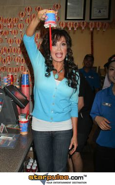 """Marie Osmond at Dairy Queen for """"Miracle Treat Day"""" Benefitting Childrens Miracle Network Hospitals in Las Vegas on August 5, 2010"""