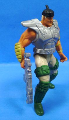 1996 GI joe Extreme Deluxe LT. STONE ver. 2 by AtenRaActionFigures