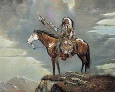 Amazon.com : 5 Native American Indian Art Prints Chief Western Decor Poster : Patio, Lawn & Garden