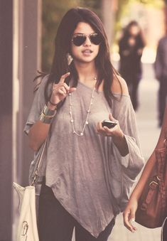 Selena Gomez fashion idol gotta love her style looks great causal and fabulous glammed up