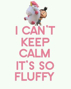 Who can KEEP CALM in the face of all this fluffiness.