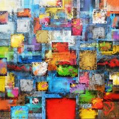 Artwork >> Joan Llaverias >> Black geometric #artwork, #masterpiece, #painting, #contemporary, #art
