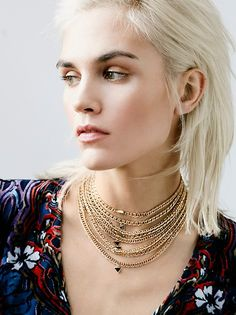 High Vibrations Statement Choker at Free People Clothing Boutique