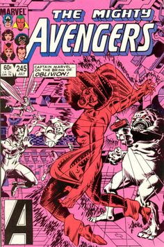Cover for The Avengers (Marvel, 1963 series) #245 [Direct Edition]