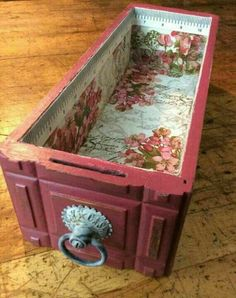 An idea for the drawers