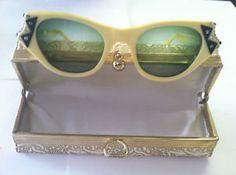 Art Deco Bakelite Rhinestone Glasses