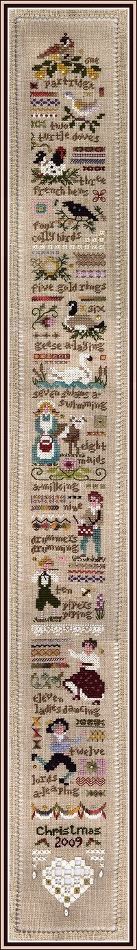 Twelve Days - Victoria_Sampler Pattern