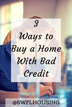 Don't get discouraged about buying a home based on your credit. There are options available if you speak with a professional. Contact a real estate agent today.   #Naples #homeforsale #houseforsale  #houseforsaleinnaples #homesforsaleinnaples #naplesreale