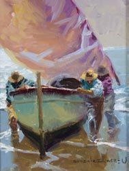Boat Painting, Spanish Painters, Visual Texture, Contemporary Paintings, Figurative Art, New Art, Museum, Drawings, Artwork
