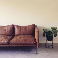 Denna veckan har vi fin fina priser på Tiki soffan från Fogia. Mellan 15-20% rabatt. Foto: Ida lærke @idalaerke #fogia #tiki #olssongerthel25 #olssongerthel