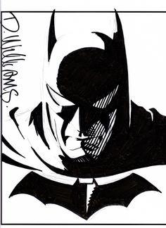 Batman by David Williams Comic Art