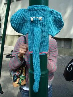 Gathering ideas for a yarn bomb on the southside!