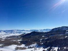 The view from Jupiter Peak is far out! Park City Utah [OC] [3264x2448]