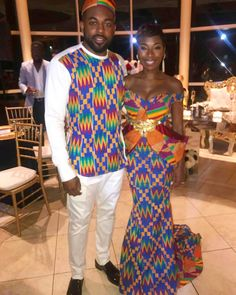 Hey Damsels, Have you checked out the latest Kente styles? It is true that Kente… African Wedding Attire, African Attire, African Wear, African Women, African Dress, Ghana Traditional Wedding, Traditional Fashion, African Inspired Fashion, African Print Fashion