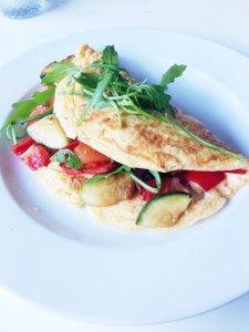 Frisse Groente Omelet - Goed Eten Gezond Leven