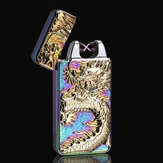 - 100% brand new and high-quality made. - Absolutely safe and easy to use, lights at the push of a button. - This lighter is windproof because it doesn't produce any flames. - New innovated technology that use electricity to create an electric arc. - Comes with a mini USB cable. - Retail box is included.