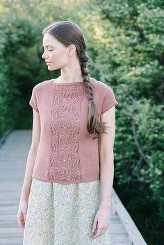 Ravelry: Imogen Tee pattern by Carrie Bostick Hoge