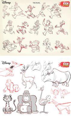 Artes de Kick Buttowski (Disney XD), por Martin Hsu e C. Raggio | THECAB - The Concept Art Blog