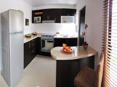 decoracion de interiores casas pequeñas de infonavit en color verde - Buscar con Google