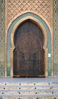 File:2010-12-14 Morocco Agadir Mohammed V mosque portal.jpg