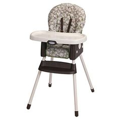 Graco Simpleswitch Portable High Chair, Zuba A high chair design is a smart choice. The Graco SimpleSwitch Portable High Chair, in Zuba, grows with your Best Baby High Chair, Best High Chairs, Portable High Chairs, Mops And Brooms, Seat Pads, Built In Storage, Table And Chairs, Cafe Chairs, Room Chairs