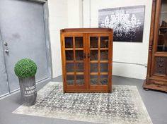 Antiques By Design - Signed Gustav Stickley Mission Oak Bookcase