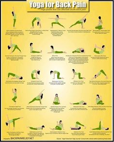 Yoga poses for backpain