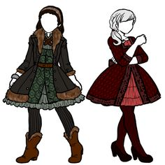 Dwalin and Balin girl costumes- I actually think these look really cute.