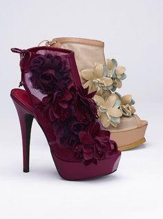 Floral Mesh Bootie - Colin Stuart® - Victoria's Secret