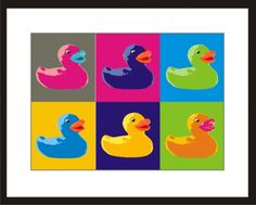 Pop art rubber ducky - Bing Images
