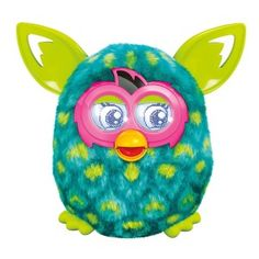 Furby Boom (Green and Blue Peacock Feather) Get ready, because Furby Boom is the beginning of an adventure. A New Generation Is Hatching on the free Furby Boom. Furby Boom, Fisher Price, Steam Punk, Top Gifts, Best Gifts, Kawaii, Top Toys, Christmas Toys, Christmas 2014