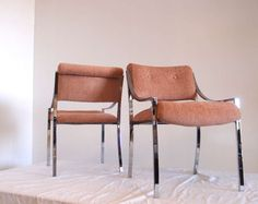 Set of Six Pierre Cardin Chairs for Dilingham | From a unique collection of antique and modern dining room chairs at https://www.1stdibs.com/furniture/seating/dining-room-chairs/
