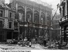bomb damage london 1941