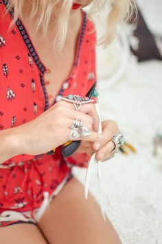 #gypsy #bohemian #rings #jewels #fashion