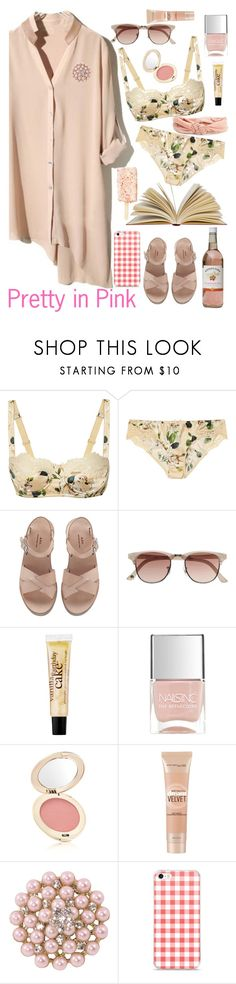 """and summer wine"" by elliewriter ❤ liked on Polyvore featuring Dolce&Gabbana, A.P.C., Witchery, philosophy, Nails Inc., Jane Iredale, Maybelline and Aéropostale"