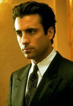 andy garcia- was watching a 90s movie with meg ryan and him.. i was like, what?!