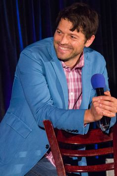 Misha Collins, Saturday Panel.SeaCon 2015.(Photos Taken by myself, please do not use without Credit. <3)